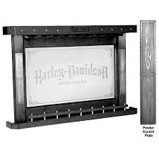 Harley Davidson Black Back Bar