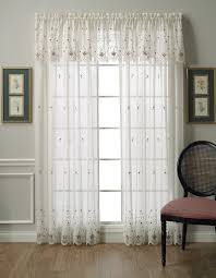 Kmart White Sheer Curtains by Amazon Com Today U0027s Curtain Sunshine Semi Sheer Reverse 63 Inch