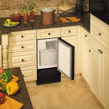 Uline Storage Cabinets Assembly Instructions by U Line Bi98b 00a Ada Compliant Built In Ice Maker Black