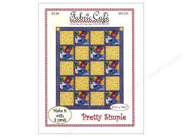 Fabric Cafe Pretty Simple 3 Yard Quilt Pattern CreateForLess