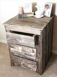 Pallet Wood Bedroom Furniture Best Side Table Ideas On Vibrant Bedside Decor