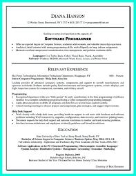 Resume Headline Computer Science Example 6