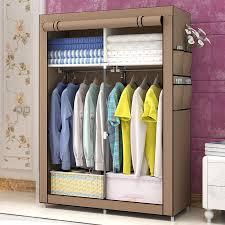 diy vlies einfachen schrank organizer closet möbel schrank schlafzimmer möbel klapp verstärkung schrank