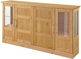 loft24 sideboard landhaus 160 x 33 x 85 cm vitrine