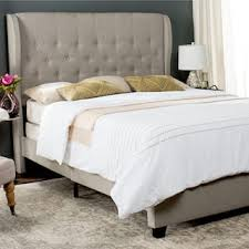 Roma Tufted Wingback Bed by Tufted Beds For Less Overstock Com
