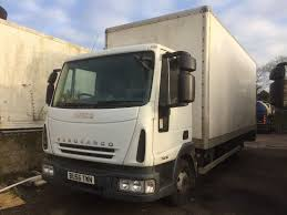 100 20 Foot Box Truck IVECO 75E16 BOX TRUCK 07 FOOT BOX 8 FOOT HIGH WITH
