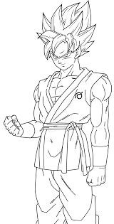 🥇 Goku Para Colorear 🥇 【 Dibujos Para Imprimir Y Pintar 】