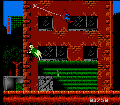 Spider Man Return Of The Sinister Six NES Vulture Antagonizes You Throughout Level 4