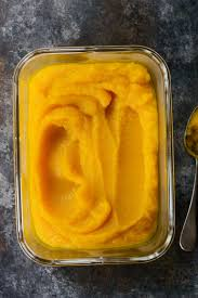 Freeze Pumpkin Puree From Can by Simply Scratch Roasted Pumpkin Purée Simply Scratch