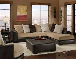 Dark Brown Couch Living Room Ideas by Innovative Living Room Ideas With Brown Sectional Living Room