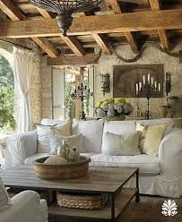 Modern Country Rustic Living Room On Best 25 French Ideas Pinterest