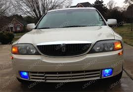 lincoln ls blue led fog light bulbs will get you noticed ijdmtoy