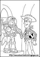 Coloring Pages For Kids Toy Story 2