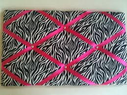 pin boards notice boards memo boards zebra print by eternalearth08