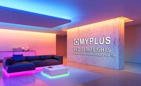 myplus smd 5050 rgb led strips with ir remote and 12