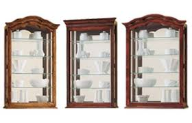 Hanging Display Cabinet Wall Mount Curio Cabinets