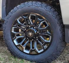 100 20 Inch Rims For Trucks SCA Performance Chevrolet HD Wheels Gloss Black With
