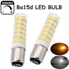 6w ba15d dimmable led light bulb 50w contact bayonet base