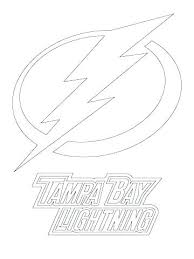 Lightning Bolt Coloring Page Dragon Pages Bay Logo Free