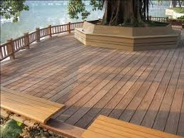 wood plastic floor polypropylene affordable outdoor patio