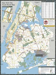 NYC Truck Routes Map - Maplets