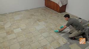 Home Depot Floor Tile by How To Install Ceramic And Porcelain Floor Tile Flooring How