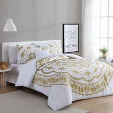 Buy White Gold forter Set from Bed Bath & Beyond