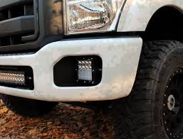 100 8lug Truck Gear Rigid Industries Super Duty QSeries Light Kit Ford Powerstroke