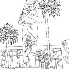 Lets Your Imagination Go Wild With These Exclusive Monuments Of Ancient Egypt Coloring Pages For Kids Every Sheet We Offer You Here Is Easy To