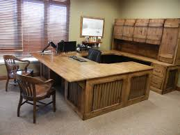DeskRustic Wood Desk Beautiful Rustic Custom Office Made From