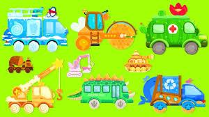 100 Trash Truck Videos For Kids Youtube Kid Fire Steamroller Ambulance School Bus