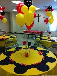 Fascinating Mickey Mouse Party Decoration Mickey Mouse And Mouse