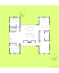 100 Modern Architecture Plans The H House 1 Story Modular Trillium Architects