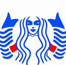 How To Draw The Starbucks Logo Step 5