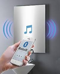 spiegel mit radio multimedia bluetooth sound