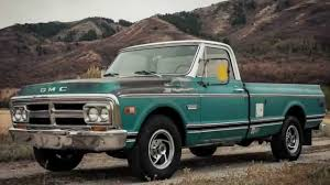 1969 GMC C20 56K MILES, BARNFIND, REBUILT Original 4-Bolt Main V8 ...
