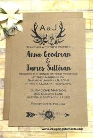 Unique Mountain Themed Wedding Invitations For Rustic Country Invitation Format Bike