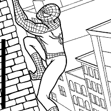 Spiderman Colouring Book Pages 2 550x550