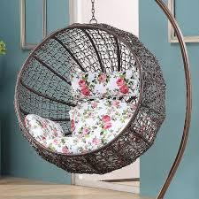 Round Indoor And Outdoor Living Room Balcony Bedroom Villa Gondola Lifts Rattan Swing Chair