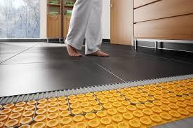 comment placer le système de plancher chauffant schluter ditra