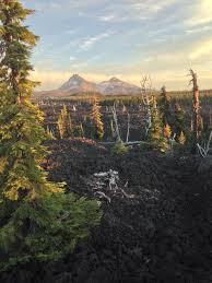 Oregon old friends Vanagon coastline and lava beds