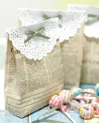 DIY Gifts And Wrap Make Your Own Gift Bags Made From Newspaper