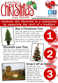 5ft Christmas Tree Tesco by Christmas Gresley Church
