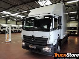 100 Truck Store MERCEDESBENZ Atego Neu Verteiler 1218 4x2 Closed Box Truck