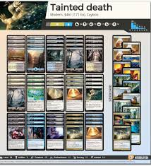 deck mtg modern tainted remedies combo in modern mtg amino
