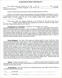 Outsourcing Contract Template Form Examples Construction Timeline Free Agreement Sample Pdf