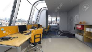 100 Contemporary Architectural Design Modern Office Interior With Curved Glass Windows In A Contemporary