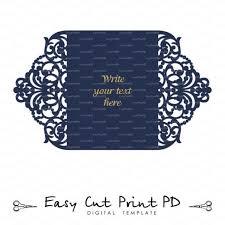 wedding invitation stationery pattern card templates svgfiles lace