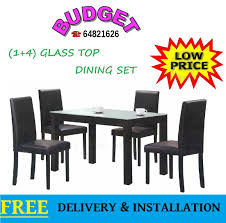 (1+4) / (1+6) GLASS TOP DINING SET In Walnut And Black Cushion Chair Luxury Ding Room Appliance Home Fitment Fniture Fitting Chairsleather Theater Rollback Chair Black Leather Chairs Modern Details About Small 3 Piece Set Table And Kitchen Faux Marble China Custom Designed Hotel For Contemporary Table Bronze Leather Marble Omega T 185 Italy Brand Sets With Buy Setmarble Prices Product Mia Ceramic And Finley Chair Hot Item Ybs765 Interior Foreground Wooden Stock Photo Fashion Classic Stainless Steelleather Ding Chairsliving Room Chairblack White Metal Fniture