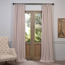 120 Inch Linen Curtain Panels by Exclusive Fabrics U0026 Furnishing Fhlch Vet1319 Heavy Faux Linen